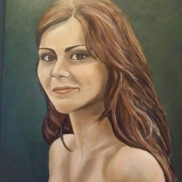 gjoede voornemens o.a. olieverfportret dochter